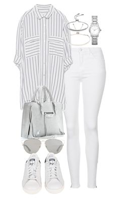 """Untitled #2230"" by theeuropeancloset on Polyvore featuring Topshop, Zara, Balenciaga, Christian Dior, adidas, Monica Vinader and Burberry"