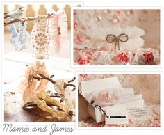 Stuff We Love - Mamie and James' gorgeous wedding garters.
