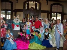 """Have you ever been """"Family of the Day"""" at WDW?"""