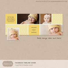 Your place to buy and sell all things handmade Facebook Page Cover Photo, Facebook Timeline Covers, Twitter Cover, Album Design, Book Design, Layout Design, Kids Photo Album, Social Design, Cover Template