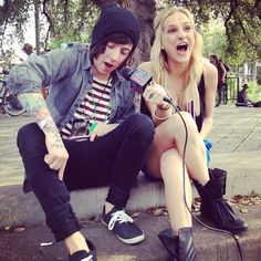 Chelsea chatted with Breathe Carolina at SXSW 2012