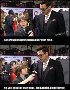 Robert Downey Jr ~ like everyone else...