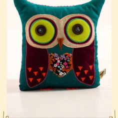 My owl pillow<3