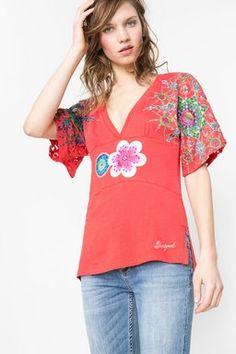 Camisetas & Tops Desigual Camiseta Elise