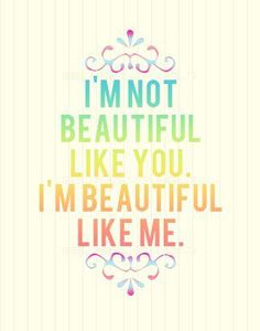 We are, each one of us, beautiful. #beauty #quotes #rainbow