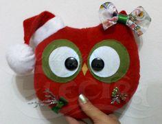Xmas Owl - dollzbyelectra@gmail.com
