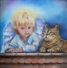 Annet Loginova art-Peinture sur soie