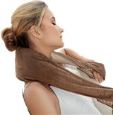 3 in 1 Heated Body Wrap This looks great and should relieve tension and relax Moms :) Fabric Covered Walls, Muscle Knots, Body Wraps, Sore Muscles, Fitness Diet, Health Care, Health Tips, How To Apply, Hair Styles
