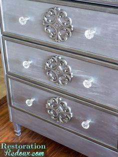 Silver Painted IKEA Rast Hack