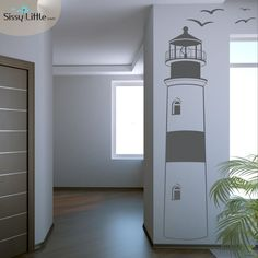 Our Find your Way Home Lighthouse features a traditional look; complete with windows, a beacon and seagulls. This Lighthouse would look great in any room.
