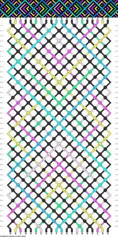 20 strings, 7 colors