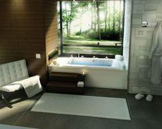 I can't wait to have a home with a big tub  to relax in...
