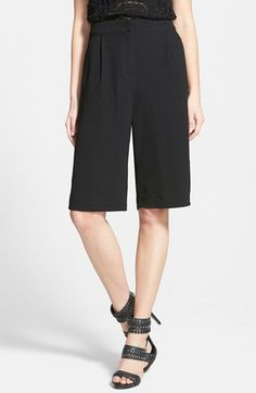 GLAMOROUS+Pleated+Culottes+available+at+#Nordstrom
