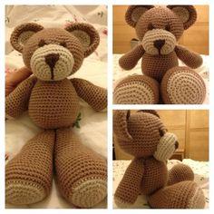 Cute teddy bear free pattern