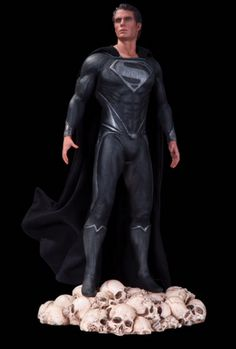 2013 SDCC Exclusive Man Of Steel 1:6 Scale Icon Statue Superman Variant - DC Comics - Action Figures Toys News ToyNewsI.com