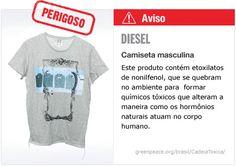 Diesel camiseta   #Detox #Moda NAO COMPRE FAZ MAL A SUA SAUDE