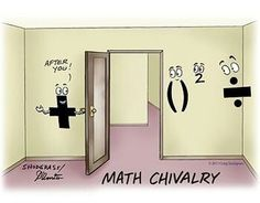 PEMDAS Humor - Clever visual representation of Order of Operations