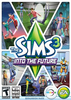 The Sims 3: Into the Future - for Mac / Still til this day. Love playing it. :)
