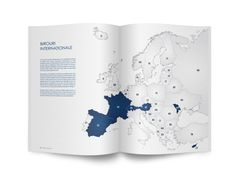 Bostina&Associates Annual Report 2012 by Andrei-Sergiu Urse, via Behance Lawyers, Graphic Design Inspiration, Behance