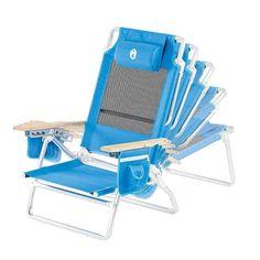 Beach Chair Recliner  sc 1 st  Pinterest & Kelsyus Beach Canopy Chair | Better Beach Chairs | Pinterest ...