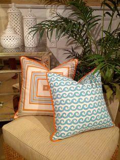 - Naples & Palm Beach - Beach Pillows   Coastal Pillows