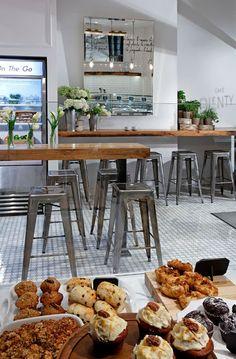 Kaper Design; Restaurant Hospitality Design Inspiration: Cafe Plenty, interior.