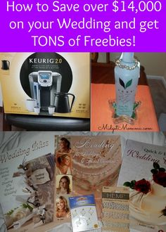 If you are getting married you don't want to miss this post!! How to get over $14.000 in FREEBIES and Money Savings!! From free wedding veils, savings on wedding dresses and Tuxes, FREE Keurigs & more!! This is a MUST Read for any bride to be!