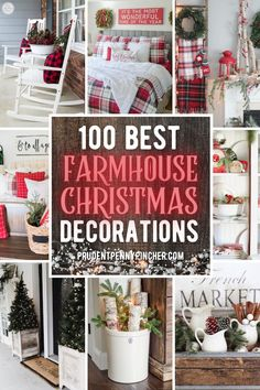 Christmas Decorations For The Home, Cheap Christmas, Farmhouse Christmas Decor, Noel Christmas, Country Christmas, Christmas Projects, Simple Christmas, All Things Christmas, Holiday Crafts