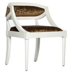 """Luna White Chair - 24""""W x 24""""D x 31""""H"""