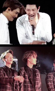 Startled Kai (10/10) << Chanyeol just laughs and Chen's Wow!