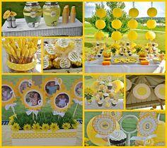 My little sunshine birthday theme...love the picture idea!!