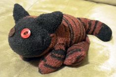 Heatable sock cat (with tute and lots of pics) - TOYS, DOLLS AND PLAYTHINGS
