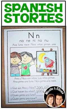 Reading Comprehension Passages 1 Spanish syllable stories with comprehension questions. Each story focuses on different syllable patterns.Spanish syllable stories with comprehension questions. Each story focuses on different syllable patterns. Bilingual Kindergarten, Bilingual Classroom, Bilingual Education, Spanish Classroom, Spanish Teaching Resources, Spanish Lessons, Learn Spanish, Reading Comprehension Passages, Comprehension Questions