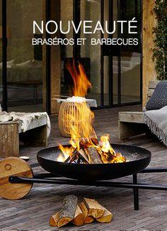 Découvrez les nouveautés de joyeuses grillades, barbecues et braséros.. de terrasse ou braséro cube à emporter partout sur la plage ou camping