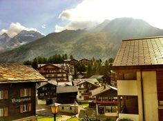 Saas-Fee Switzerland  #village #saas-fee #switzerland