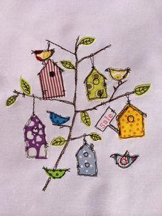 Rehpublic - Nähmalen 2.0: Birdie House Doodle