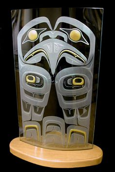 Geoff Greene - Haida Eagle Pole
