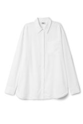 <p>The Down Shirt is made from smooth tencel lyocell. Ithas a loose fit, a hidden button placket along the front, a single chest pocket and a flattering curved hem.<br /><br />- Size Small measures 112 cm in chest circumference, 75,50 cm in length and 61 cm in sleeve length.<br /></p>