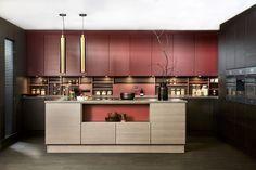 Pesto 19 - Huseby Kjøkken og garderobe Kitchen Island, Kitchen Cabinets, Pesto, Bar, Table, Furniture, Home Decor, Scale Model, Island Kitchen