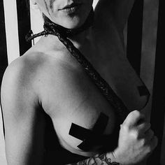 Happy Valentines Day ... This holiday makes me want to gag myself In a good way  @jmecherrybones  #BrittneyVonBossy #gag #whip #tape #blackandwhite #altgirl #chokeonhappiness #kinky #AustinModels #freak #happyvalentinesday #fetish by bossyent_brittney