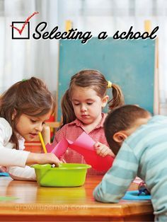Selecting a School - Grown Ups Magazine - As more and more states allow for school of choice, it's important to arm yourself with the questions necessary to make sure the school you choose is the best for your child.