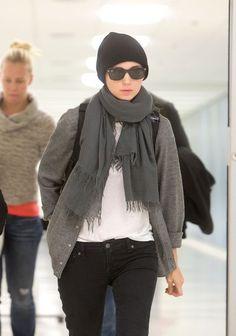 Rooney Mara Photo - Rooney Mara and Charlie McDowell at the Airport