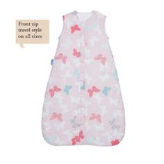 find Grobag 18-36 Months 2.5 Tog Sleeping Bag in Butterfly Flutterby at www.babyandco.com