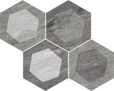 Porcelánico - Pieve mosaic multicolor 35x28 cm. | Arcana Tiles | Design | Home inspiration