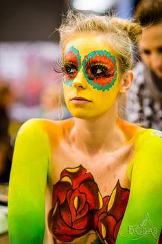 Tetoválók éjszakája, Budapest Tattoo Night, Testfestés / Body paint, #bodypaint, #testfestes, http://www.digilab.hu
