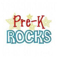 Pre-K Rocks