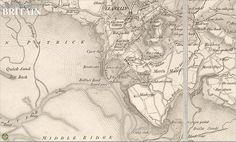 1830. Machynys, Llanelly, Carmarthenshire, Wales