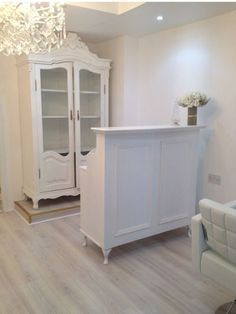 Reception Desk Cash Desk - Salon and Retail - French Style Shabby Chic
