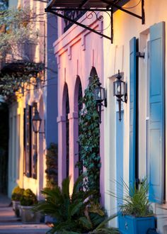 hueandeyephotography    East Bay Row Houses, Charleston, SC  © Doug Hickok  All Rights Reserved