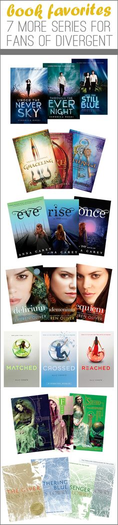 Book Favorites: 7 More Series for Fans of Divergent